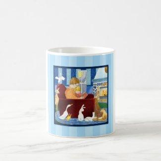 Reading Together Coffee Mug