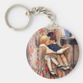 Reading Together Key Chains