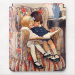 Reading Together Mouse Pad
