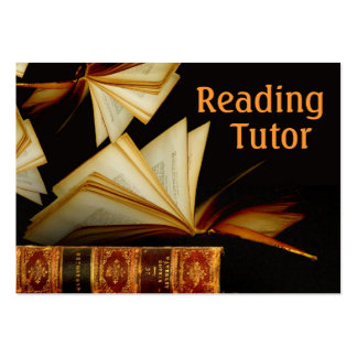 Reading Tutor Business Cards