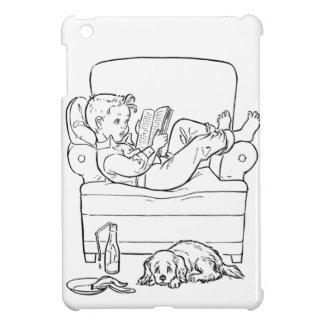 Reading While Puppy Waits iPad Mini Cover