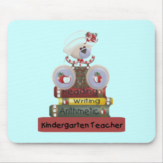 Reading, Writing, Arithmetic Kindergarten Teacher Mouse Pad
