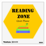 Reading Zone - Bookworm Wall Decal