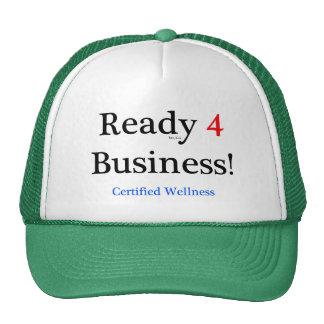 Ready 4 Business Trucker Hats