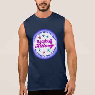 Ready 4 Hillary Clinton 2016 Year of the Woman Sleeveless T-shirt
