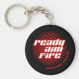 Ready Aim Fire Keychain