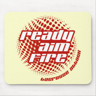 Ready Aim Fire Mouse Pad
