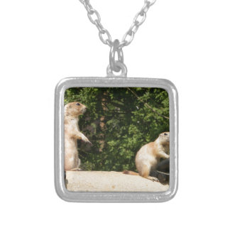 Ready, Aim...... Square Pendant Necklace