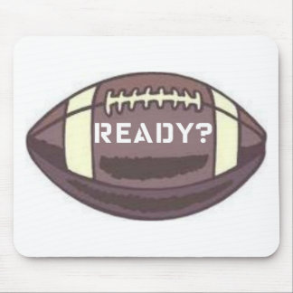 READY FOOTBALL GRAPHIC PRINT MOUSE PAD
