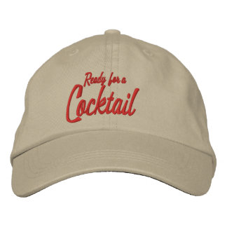 Ready For A Cocktail Dad Hat