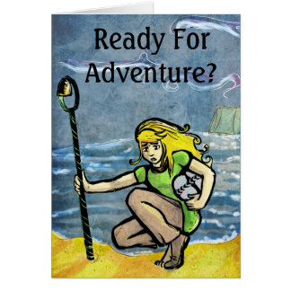 Ready For Adventure? Card