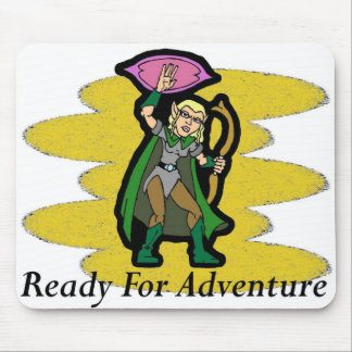 Ready For Adventure Mouse Pad