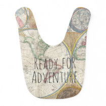 Ready For Adventure Traveler Theme Bib