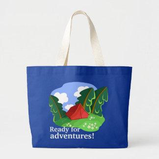 """Ready for adventures"" bag (customizable)"