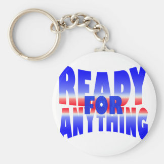 ready for anything keychain