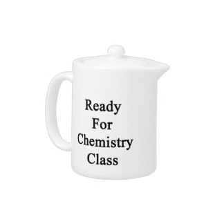 Ready For Chemistry Class