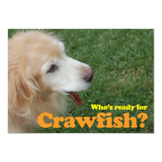 Ready for Crawfish Card