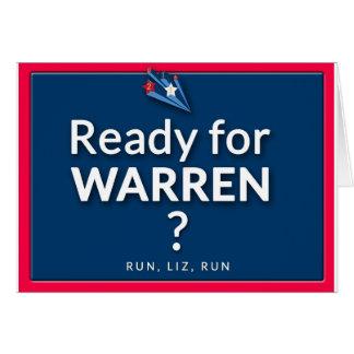 Ready for Eiizabeth Warren? Card