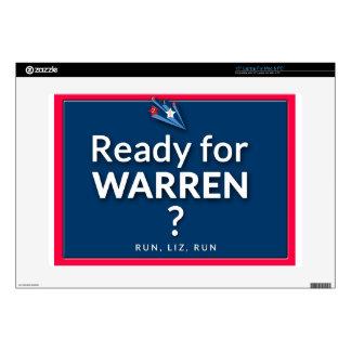 Ready for Eiizabeth Warren? Skins For Laptops