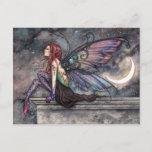 Ready for Flight Mystical Celestial Fairy Art Postcard
