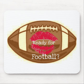 READY FOR FOOTBALL GRAPHIC PRINT MOUSE PAD