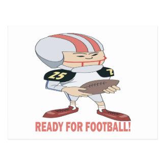 Ready For Football Postcard