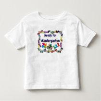 Ready For Kindergarten Child's School Shirt