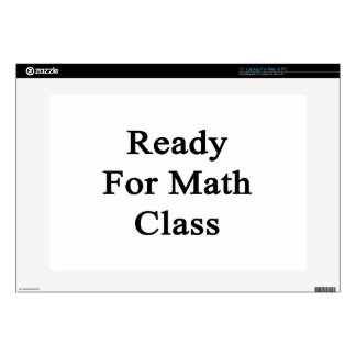 Ready For Math Class Laptop Skin