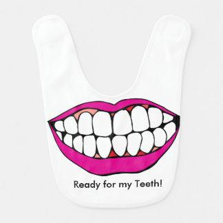 """""""Ready for my Teeth"""" Bib"""