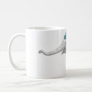Ready for Santa Elephant Holiday Wraparound Classic White Coffee Mug