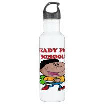 Ready For School 2 Stainless Steel Water Bottle