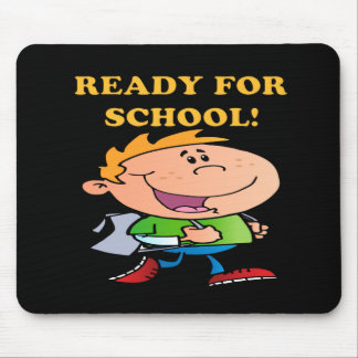 Ready For School 3 Mouse Pad
