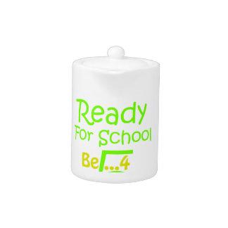 Ready for School B4Five - Apple Teapot