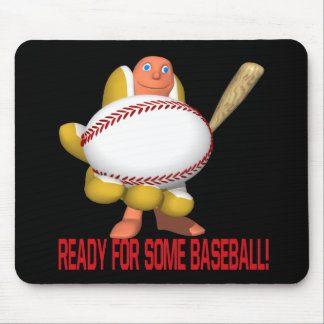 Ready For Some Baseball Mouse Pad