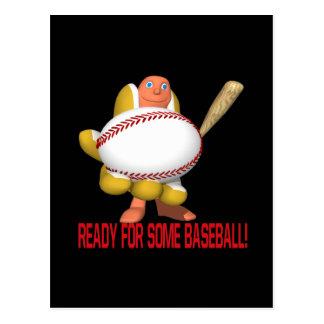 Ready For Some Baseball Postcard
