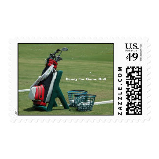 Ready For Some Golf Postage
