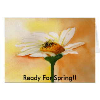Ready For Spring!! Card