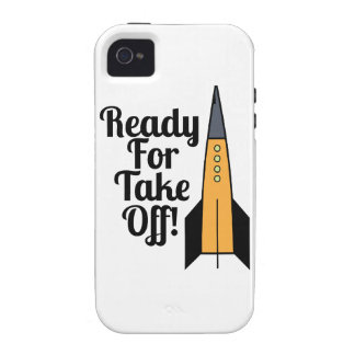 Ready For Take Off! iPhone 4/4S Case