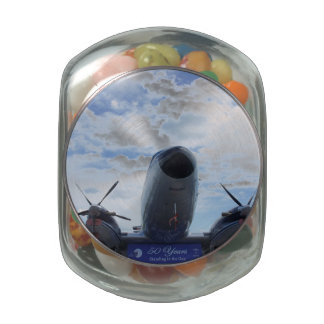 Ready for Take Off Jelly Belly Candy Jar