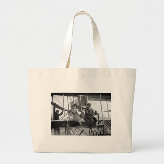 Ready for Takeoff, 1912 Large Tote Bag