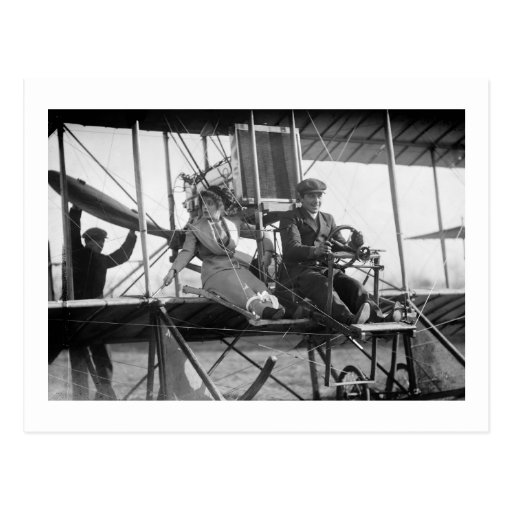 Ready for Takeoff, 1912 Post Cards