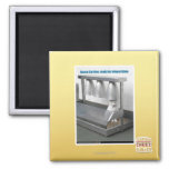 Ready for Teleportation 2 Inch Square Magnet