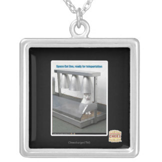 Ready for Teleportation Silver Plated Necklace
