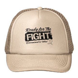 Ready For The Fight Bone Cancer Mesh Hats