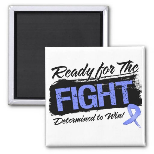 Ready For The Fight Esophageal Cancer Magnets