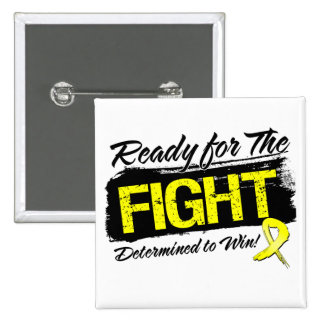 Ready For The Fight Ewing Sarcoma Pinback Button