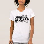 Ready For The Fight Lung Cancer T Shirt