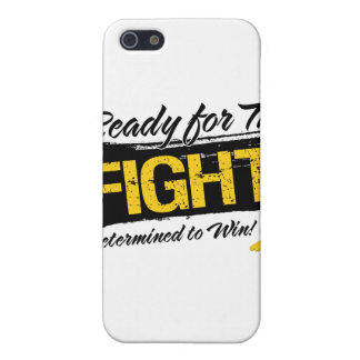 Ready For The Fight Neuroblastoma Cancer iPhone 5 Case