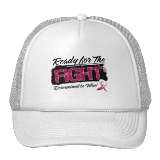 Ready For The Fight Throat Cancer Hat