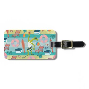 Beach Themed Ready For Unicorn Summer Bag Tag